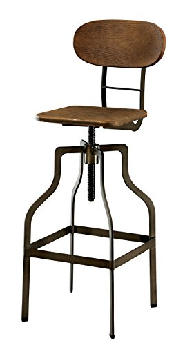 Furniture Of America Alavus Industrial Height Adjustable