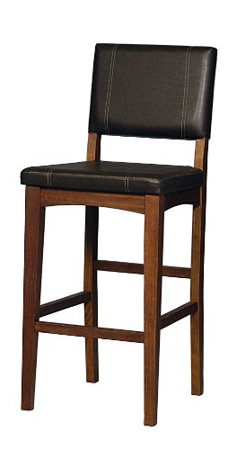 Linon Home Decor Milano Bar Stool 30 Inch Kitchen Bar