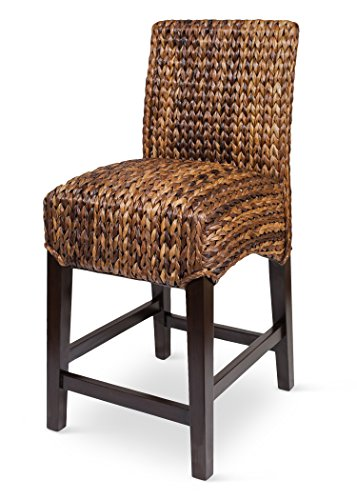 Bird Rock Seagrass Barstool Counter Height Hand Woven